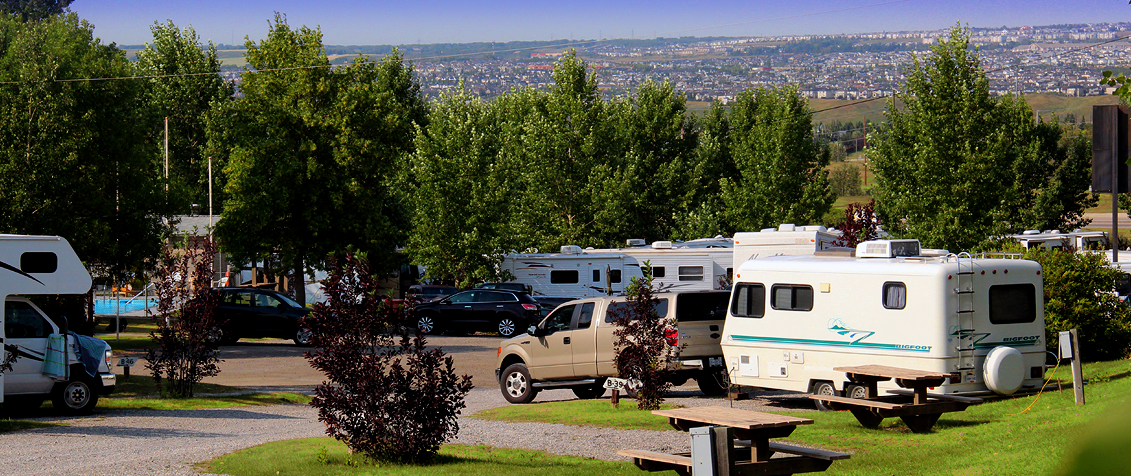 Calgary West Campground ~ Enjoy Our Famous Western Hospitality!